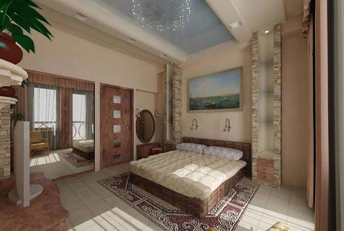 ремонт квартир точечные потолки