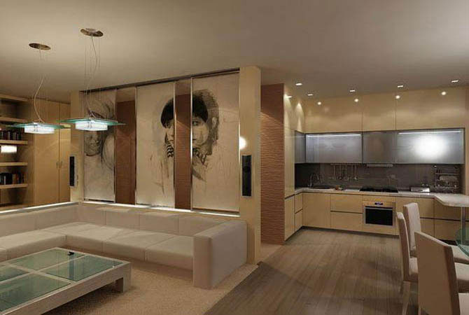 дизайн квартир проекта серии капе