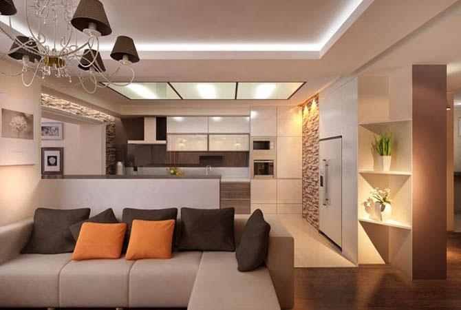 готовые дизайны квартир 60кв м