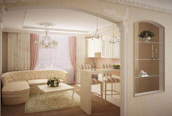 ремонт и дизайн 2х комнатной квартиры