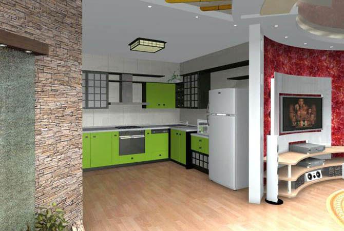 дизайны квартир расцветки обоев