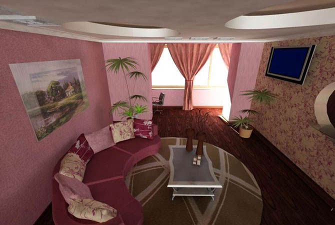 дизайн квартиры 4 комнатной