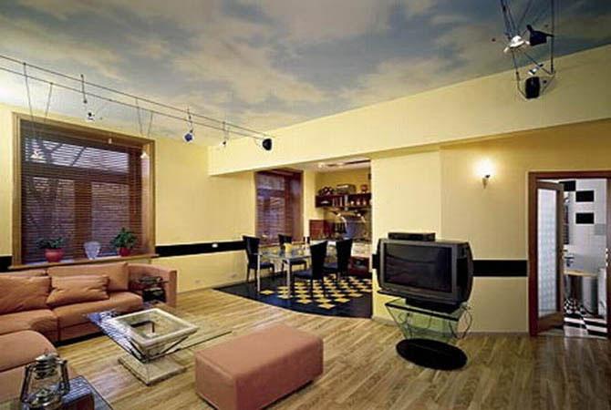 фото интерьера однокомнатной квартирышкола ремонтаквартирный вопрос