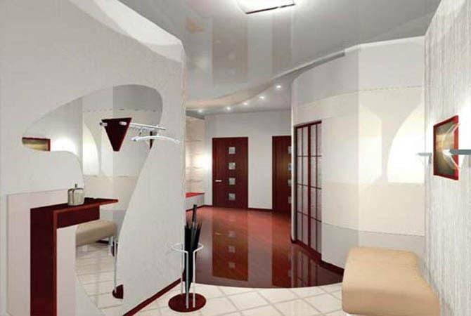 дизайн интерьера типичной квартиры