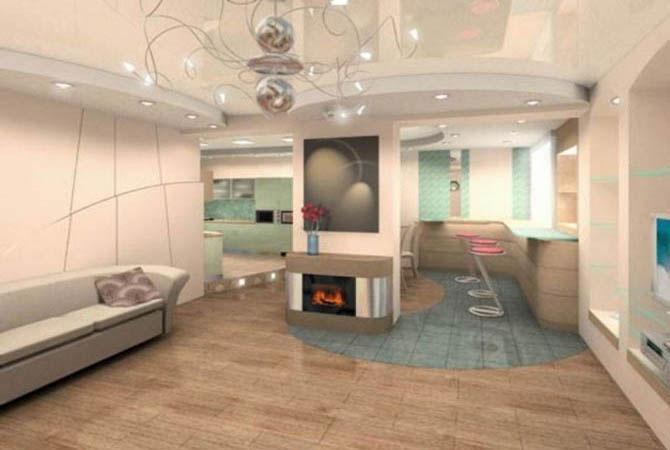 лучший дизайн гостиной комнаты