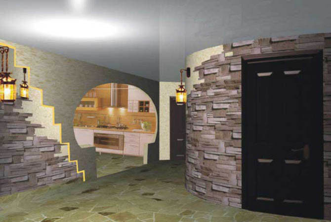 фото дизайна и интерьера квартир морские камни