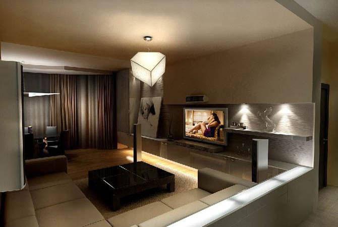 планировка дизайн интерьера ремонт однокомнатной квартиры