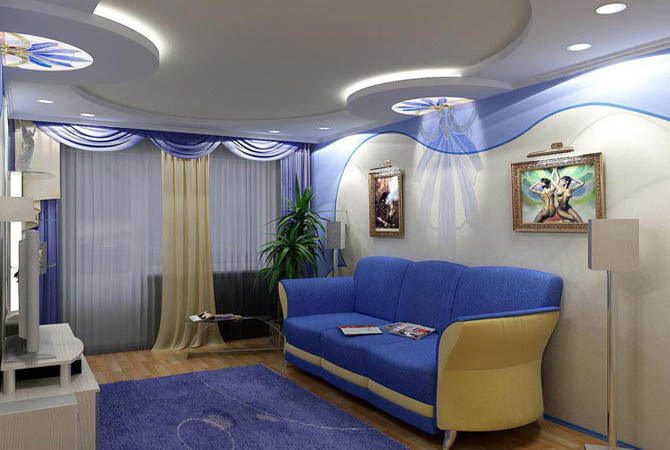 модный интерьер2 комнатной малометражной квартиры