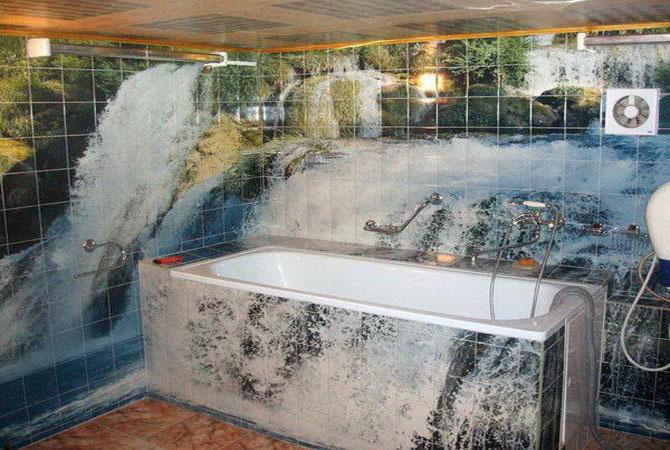 дизайн ванных комнат укладка кафельной плитки