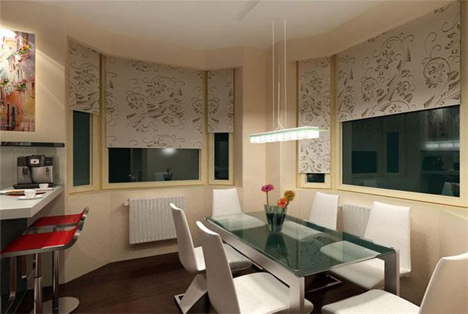 дизайн потолков из гипсокартона в малогабаритной квартире