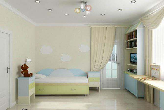 дизайн комнаты в стиле ню рэйв