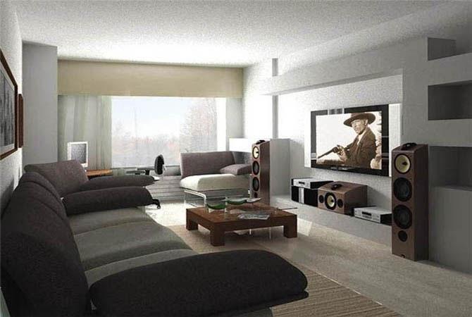 план-дизайн 1-комнатной квартиры для 3-х человек