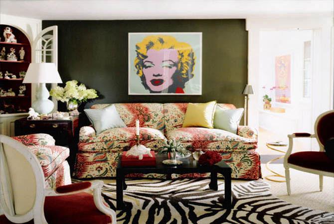 примеры оформления интерьера квартиры-фото