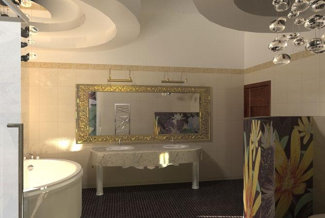 ремонт квартир потолки подсветка