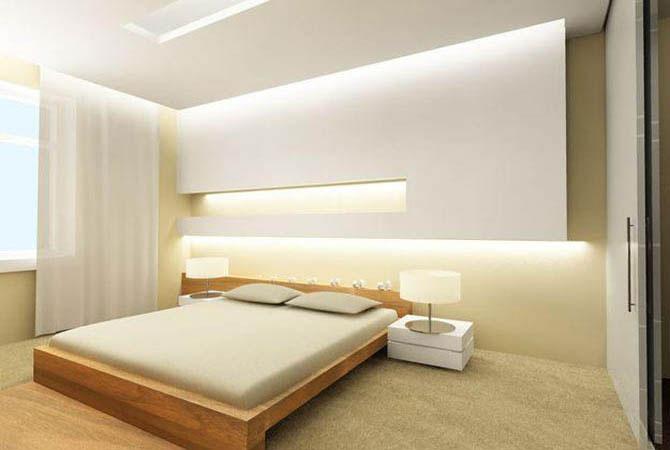 интерьер комнаты с полуэркером