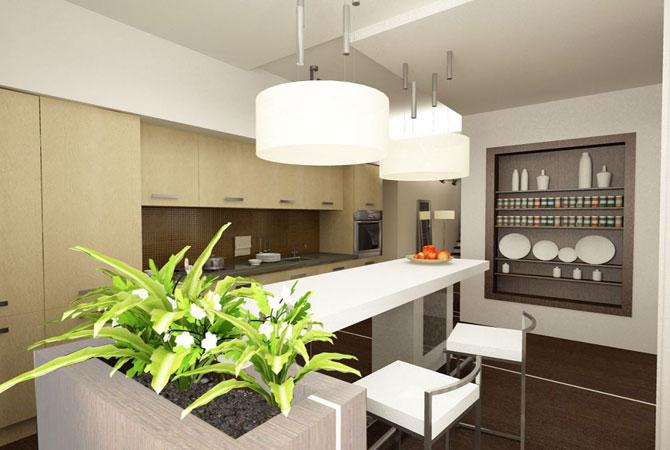 дизайн проемов между комнатой и кухней
