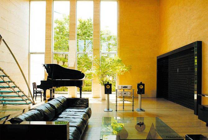 стильные квартиры с интерьером