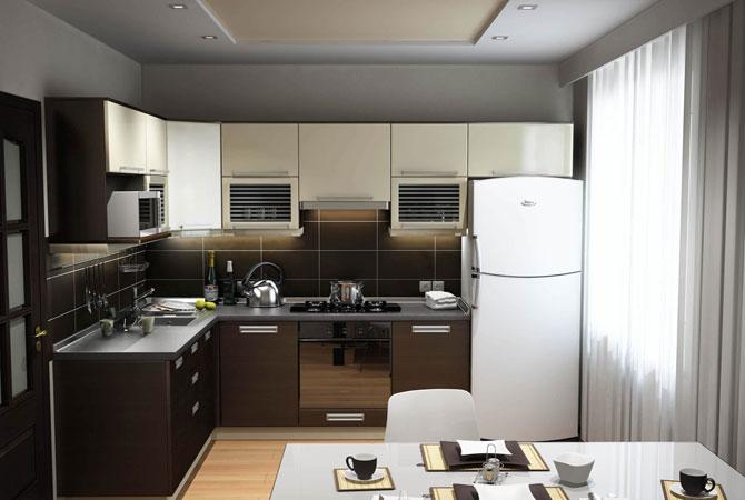 ремонт кухни в квартире с фото