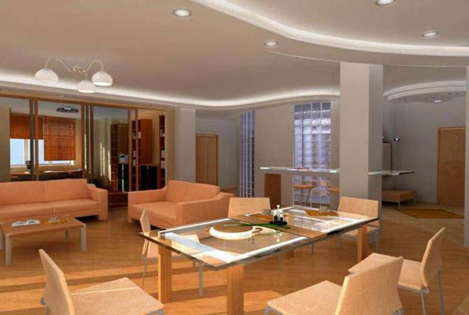 дизайн квартиры в египетском стиле