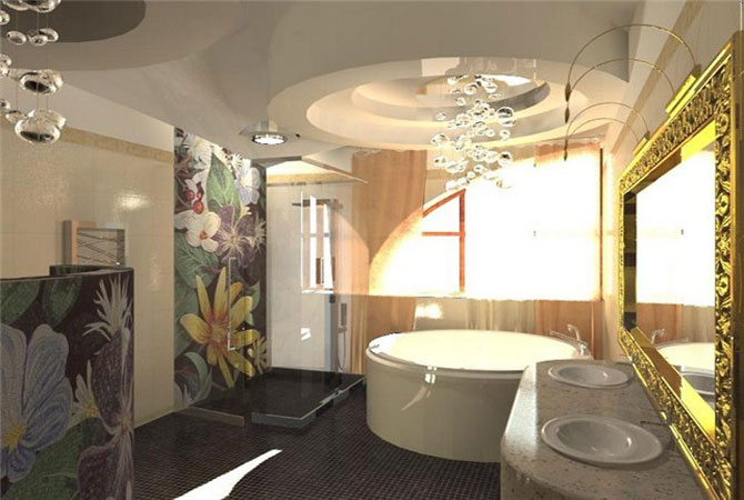 дизайн интерьера гримерной комнаты
