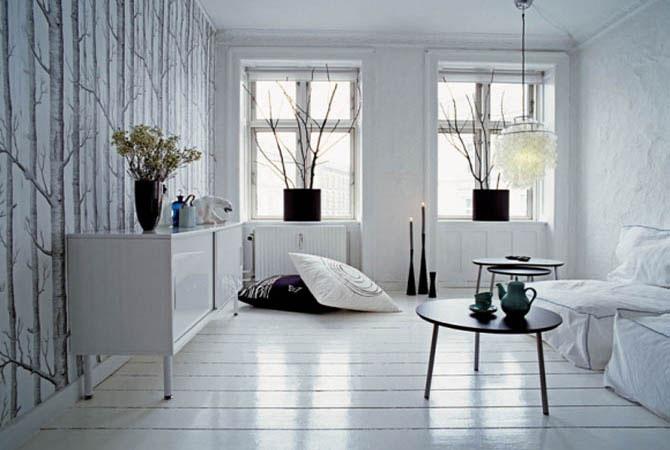 дизайн жилых комнат в японском стиле