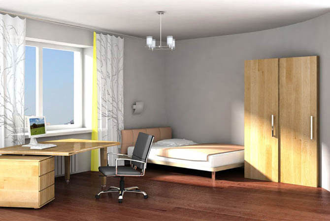 интерьер комнаты для весов