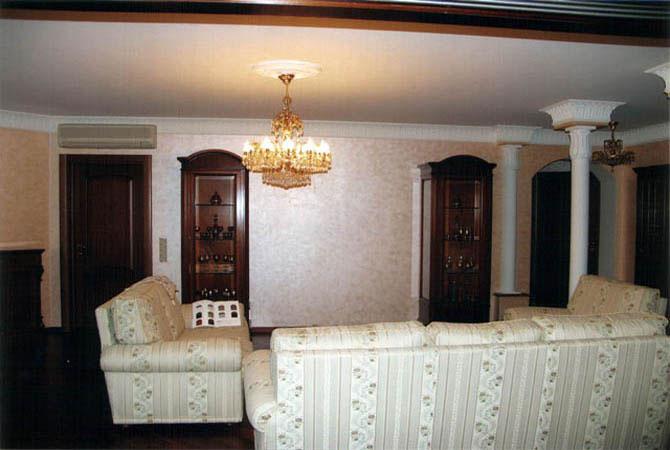 интерьер дизайн гостинной частного дома фото