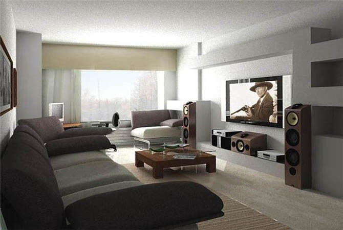 пример дизайна спальной комнаты