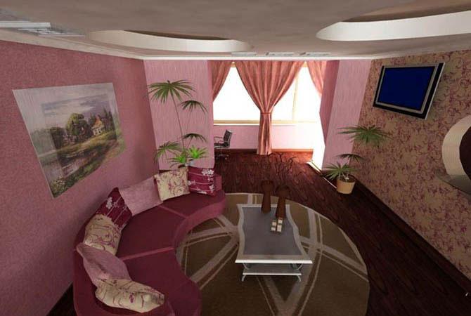 перепланировка 2-х комнатных квартитир тип карабль