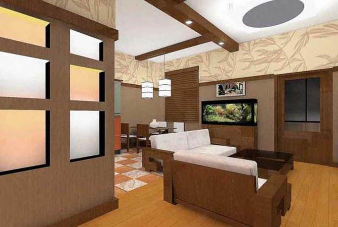 дизайн-проект двухкомнатной квартиры п-44