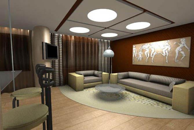 примеры дизайна однокомнатной квартиры и-79-99