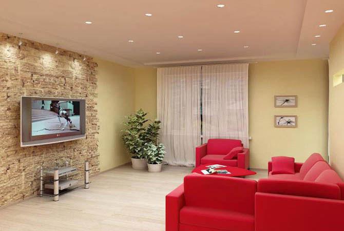 ремонт квартиры своими руками-подвесные потолки