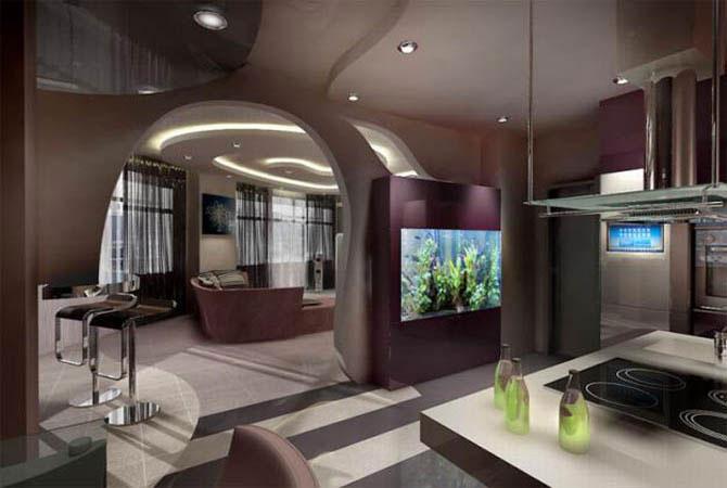 дизайн-проект комнаты 14 м