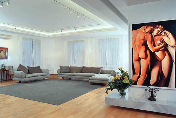 готовые дизайнерские проекты интерьера квартир