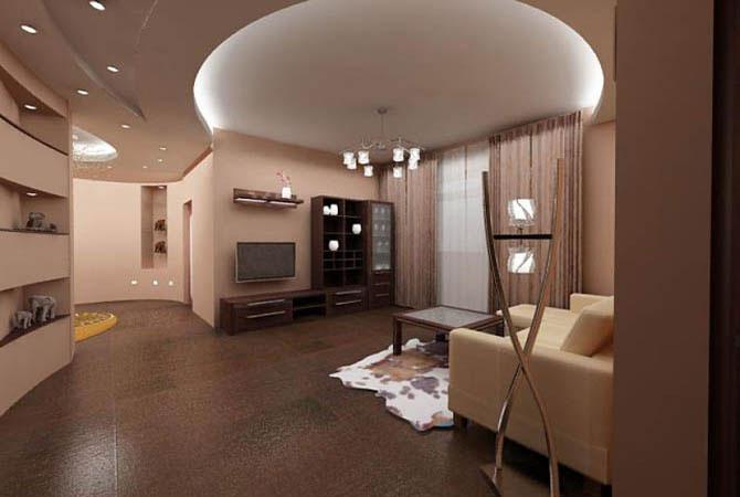 интерьер квартиры 100 квадратных метров