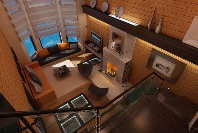 дизайн квартиры кирпичные стены без облицовки