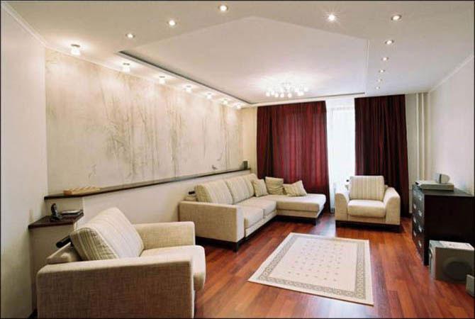 дизайн 3-х комнатной квартирысвободной планировки