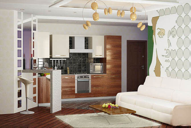 зеркала в дизайне квартир