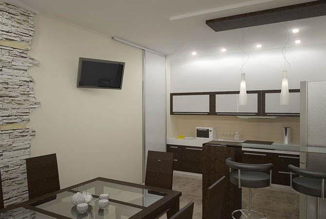 дизайн проект типовой двухуровневой квартиры