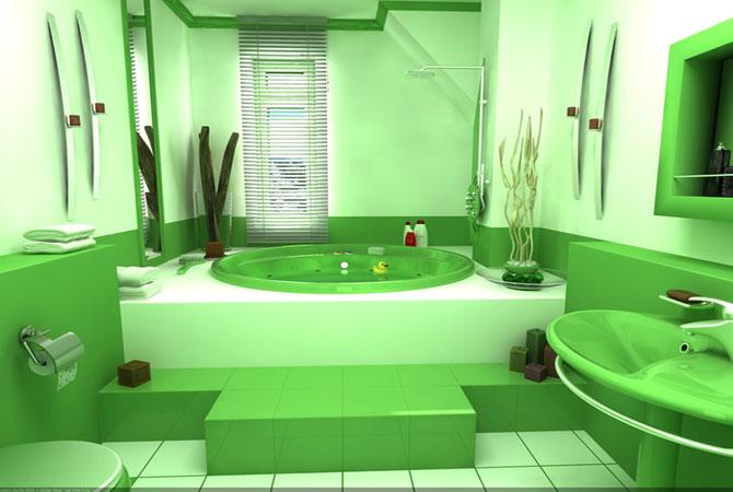 дизайн ванной и кухни комнат