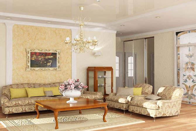 переделка ру квартирный вопрос дизайн гостинной