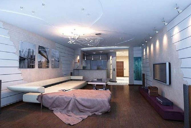 дизайн интрьера подростковой комнаты
